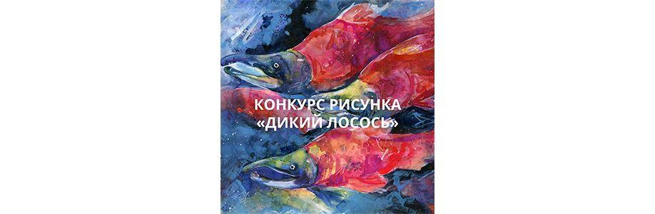 Конкурс рисунка «Дикий лосось» Cover Image